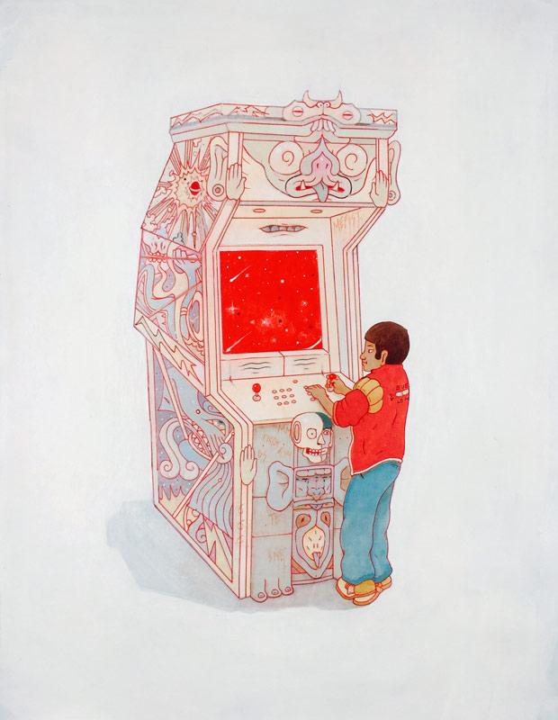 Jesús Benítez    Arcadia   Mixe Media on Canvas 50 x 70 cm //20 x 27.5 inches   $1,600