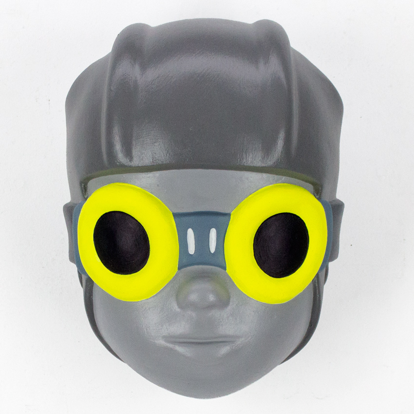 10. Hebru Brantley Flyboy Solar 6x8x4.5 Acrylic, resin and fiberglass SOLD