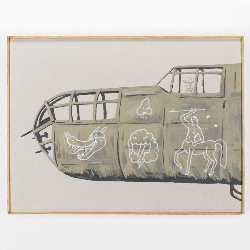 """48. Eugene Carland Nose Art 18""""x24 $1,000 -  Inquire  - Purchase directly on 1xRUN"""