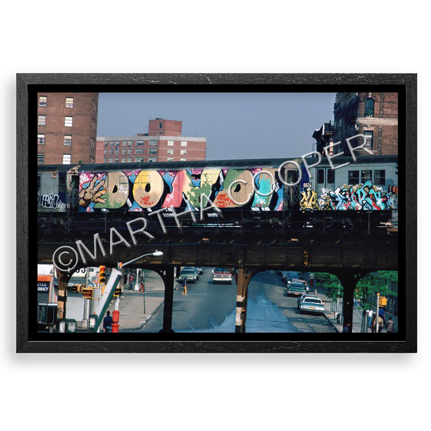 54. Martha Cooper Children of the Grave Part 2 - Bronx 1980 Archival Print on Mohawk ProPhoto Paper 20x30 - Framed $500 -  Inquire  - Purchase directly on 1xRUN