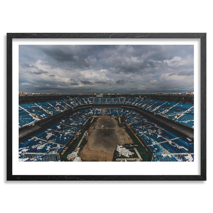 70. Rick Williams The House That Barry Built Archival Pigment Print on Fine Art Paper 16x21 Framed $250 -  Inquire  - Purchase directly on 1xRUN