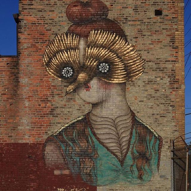 @vanessa_alice final wall  1 of 2 for @muralsinthemarket #missvan #innerstategallery #1xrun #muralsinthemarket
