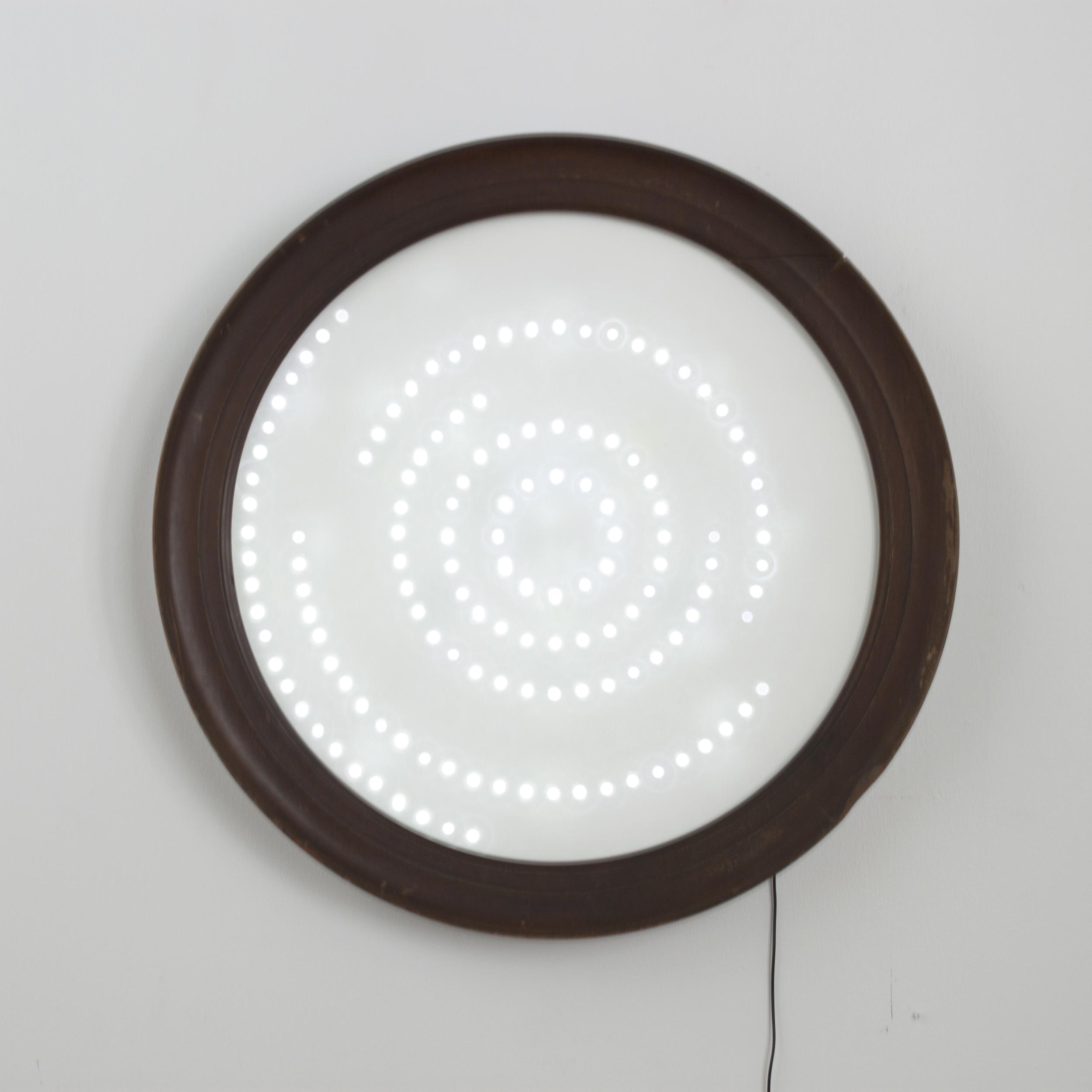 "Orbital Lamp 37"" Diameter Light Sculpture SOLD"