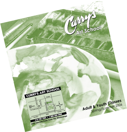 Curry's Art Store Ltd. - Art School booklet - Click to view PDF