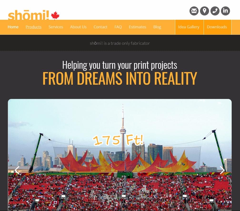 shomi inc website