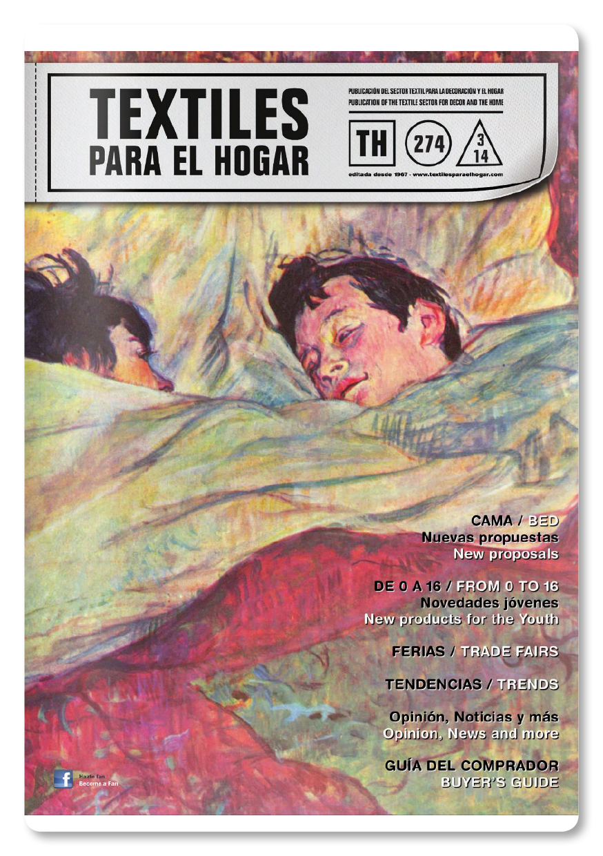 TEXTILES PARA EL HOGAR-274 08/2014