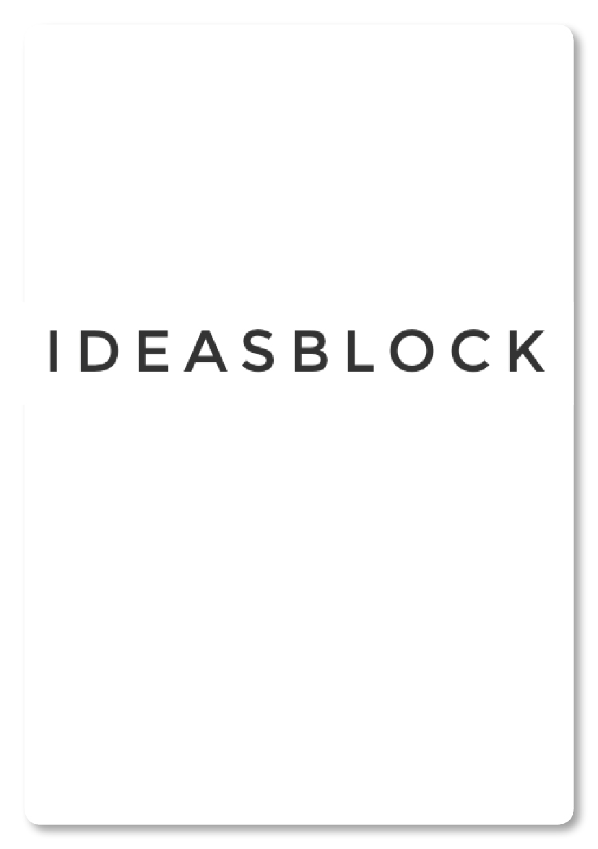 IDEAS BLOCK 09/2014