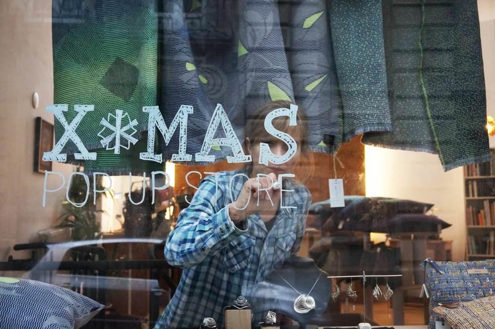 X-MAS pop up store Bruxelles 12/2014