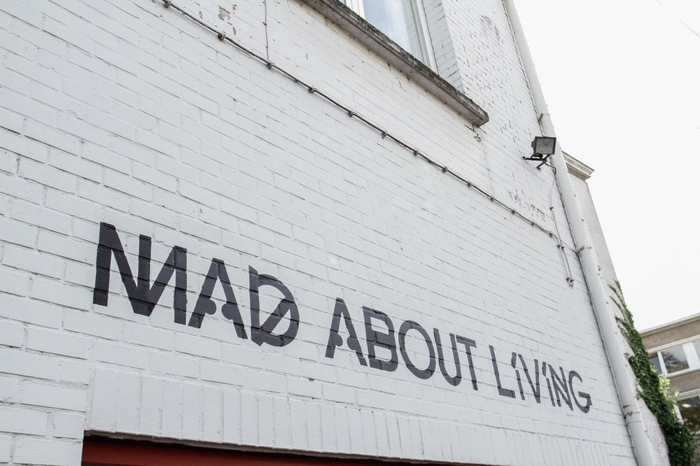 """Mad about living - collective exhibition - """"interieur"""" biennale Kortrijk 10/2014"""