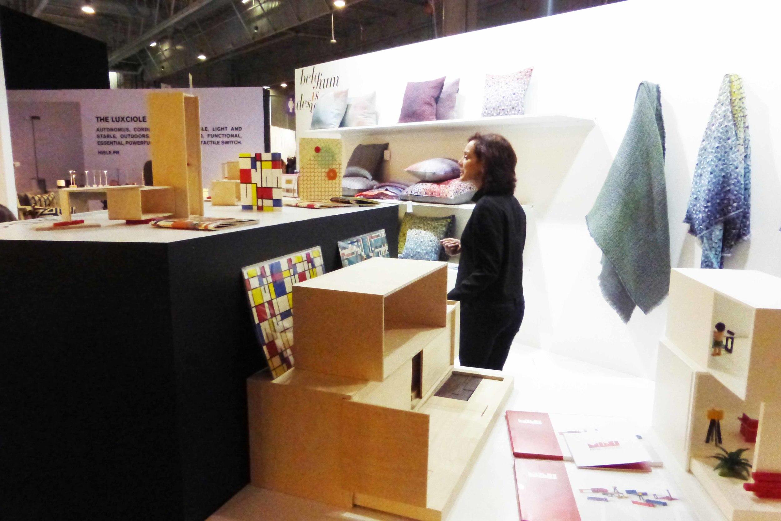 """Maison & Objet - Now design à vivre - """"Belgium is design"""" 01/2016"""