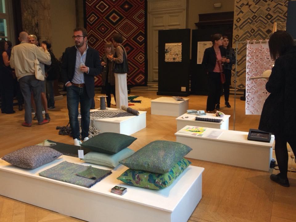 "Exposition ""BRUSSELS TEXTILE DESIGN : a contemporary show"" @BIP, 2-4 Rue Royale, Bruxelles. 09/2018"