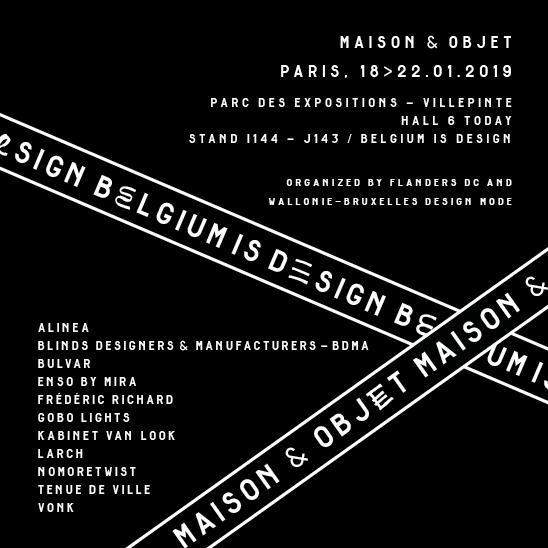 Belgium is Design – M&O19