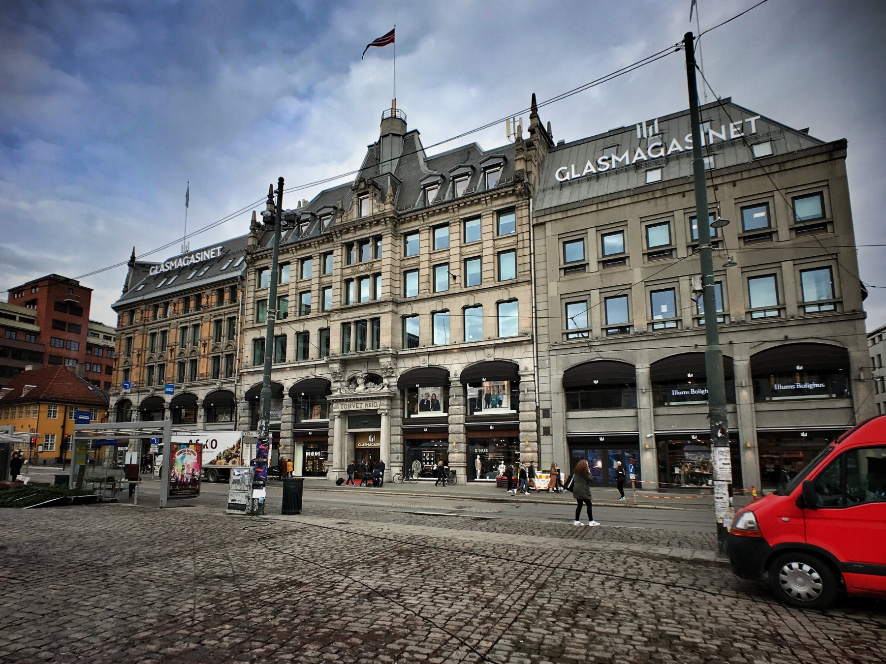 GlasMagasinet was founded in 1739 and is the Norway's oldest department store