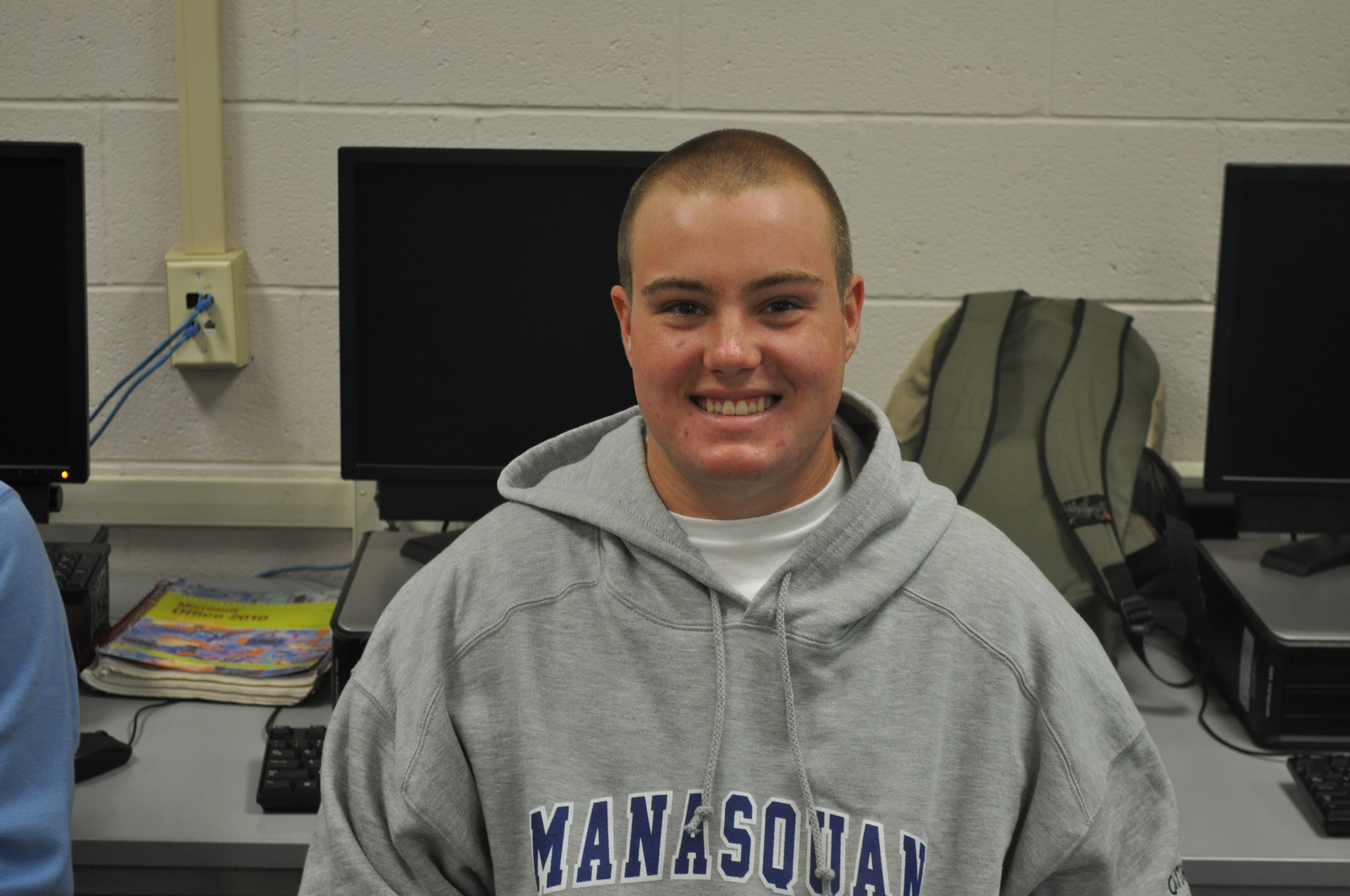 Matt is a senior from Brielle who makes the best ice cream on the Jersey Shore at Hoffman's Ice Cream. Matt does Squan-A-Thon because he wants to help the community that has helped him in so many ways.