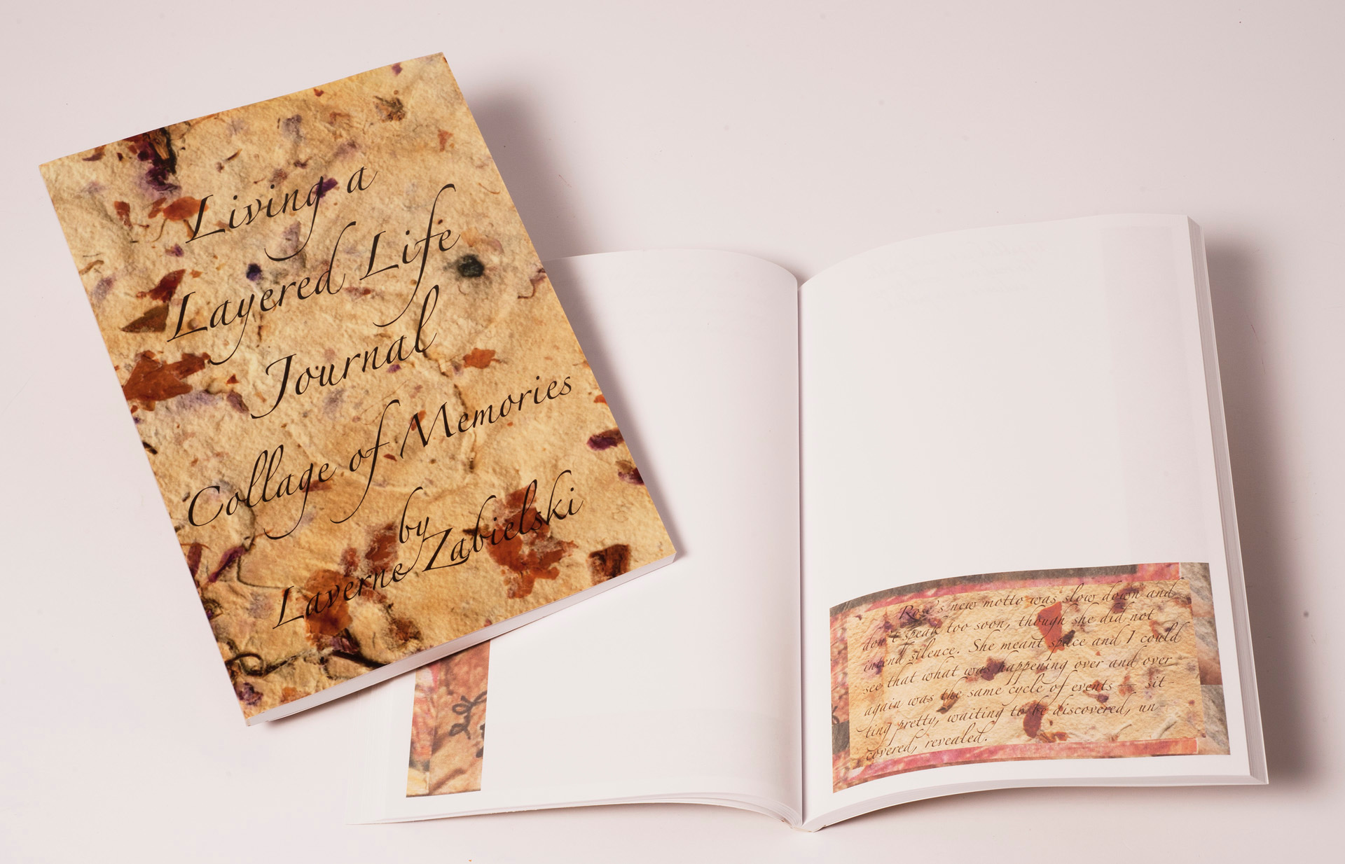 a journal with prompts