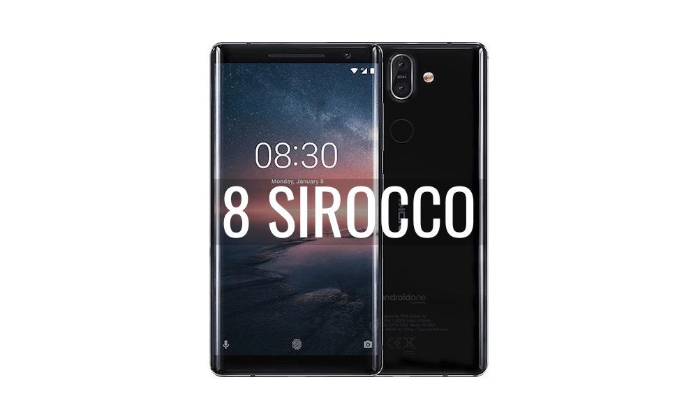 Reparar Nokia 8 Sirocco