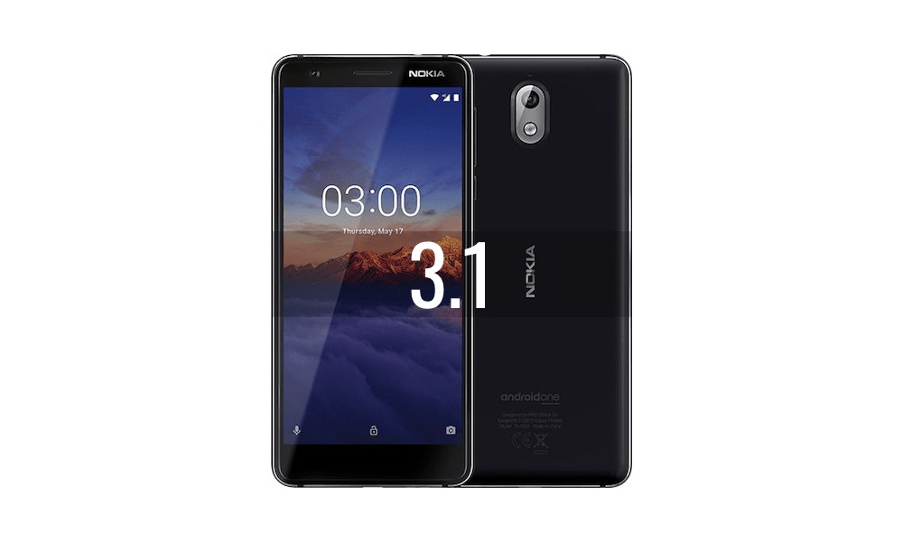 Reparar Nokia 3.1