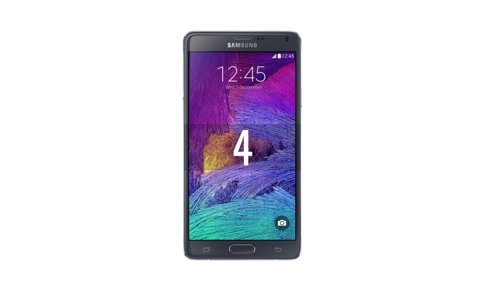 Reparar Samsung Galaxy Note 4