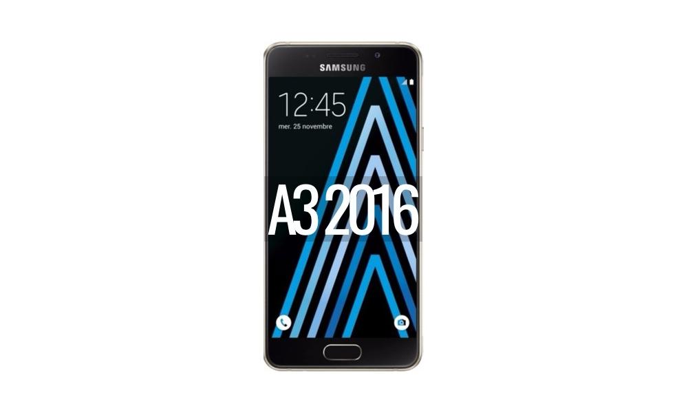 Reparar Samsung Galaxy A3 (2016)