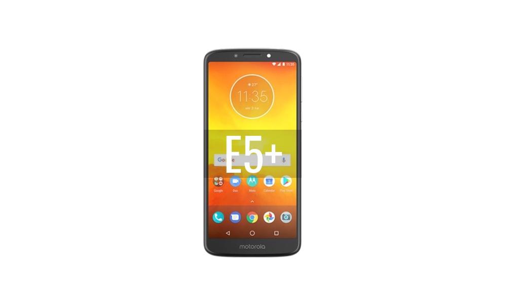 Reparar Motorola Moto E5 Plus