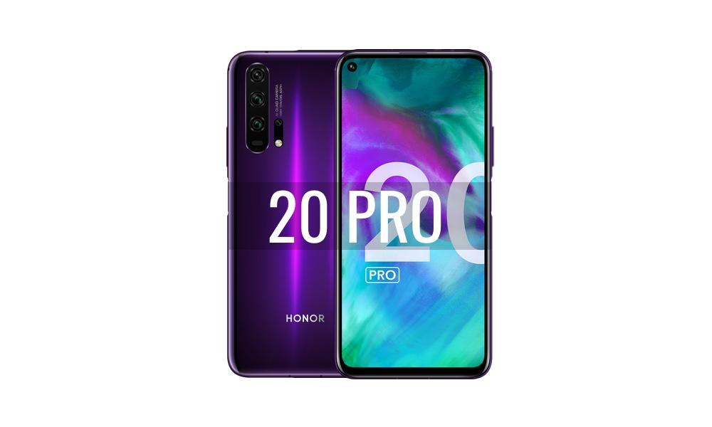 Reparar Honor 20 Pro