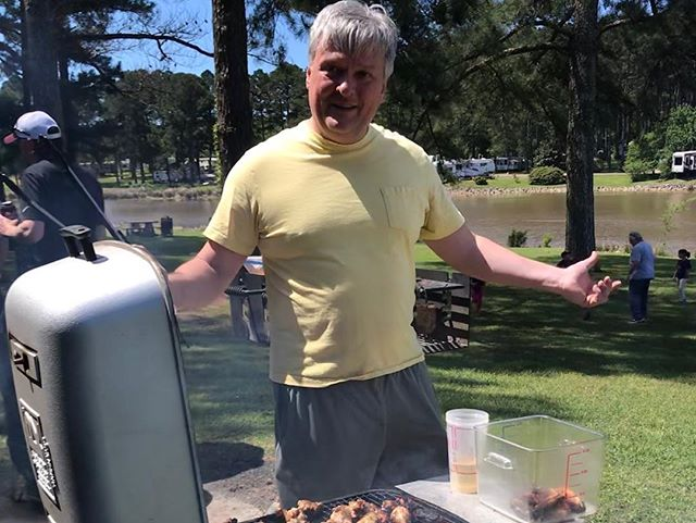 What a beautiful weekend for our Spring Cook-Off! Great weather, great food, great fellowship!