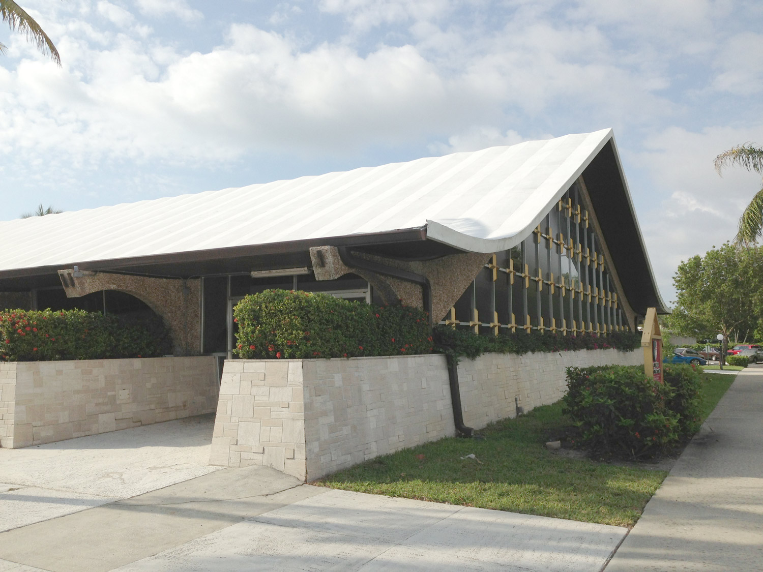 Current day Church exterior