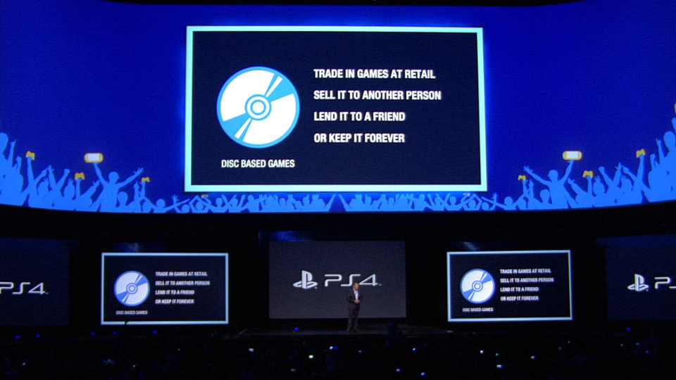Sony's winning slide