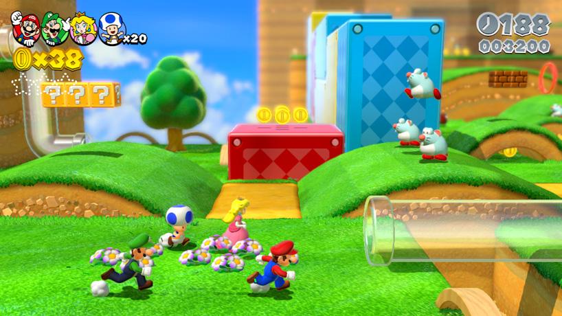 Platform: Wii U                                                    Release date: December 2013