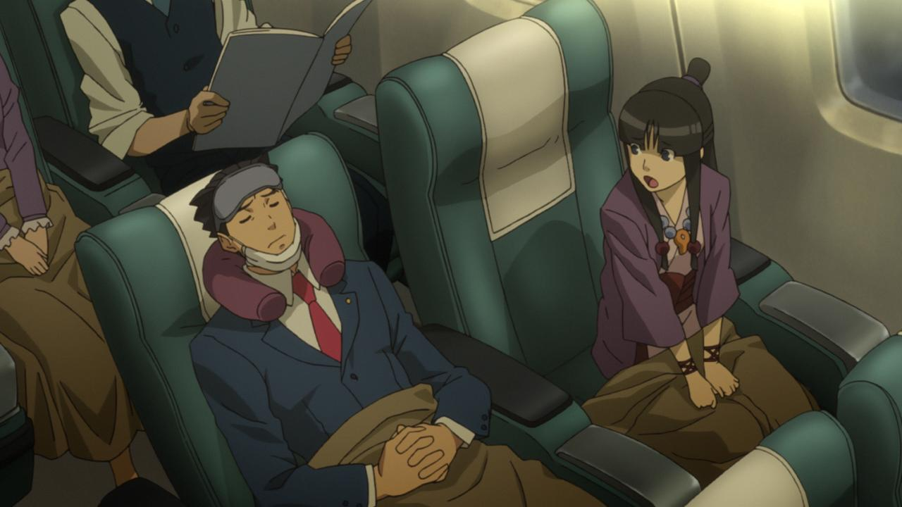 Spoilers: Maya isn't in AA5, so seeing her again is a real treat for long time Ace Attorney fans.