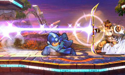 Every one of Mega Man's attacks is taken from another game, and you BET I annoy my friends by explaining each one.
