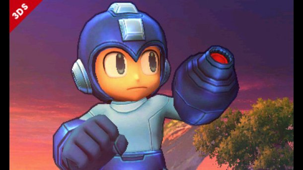 """You know, I've never noticed how high Mega Man wears his uhh...""""underpants"""" before."""
