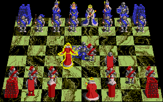 Battle Chess took the mechanics of Chess and literalized the war metaphor, for an experience much friendlier to people with more familiarity with fantasy novels.