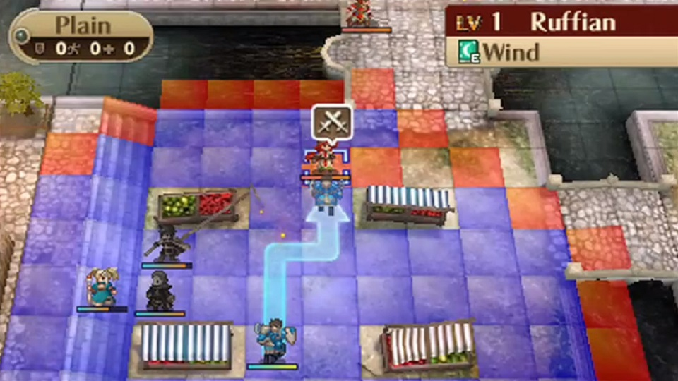 "Fire Emblem isn't quite Chess, but the grid, importance of the ""Lord"" character, and turn-based combat betray its inspirations."