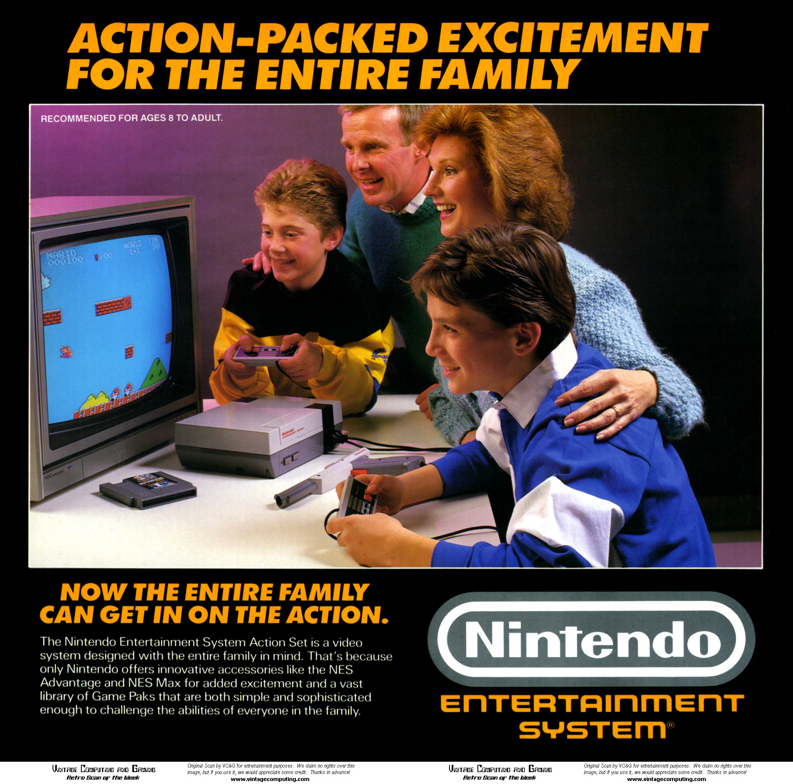 This is the picture, by the way. No, I have no idea what the kid with the other controller is doing.