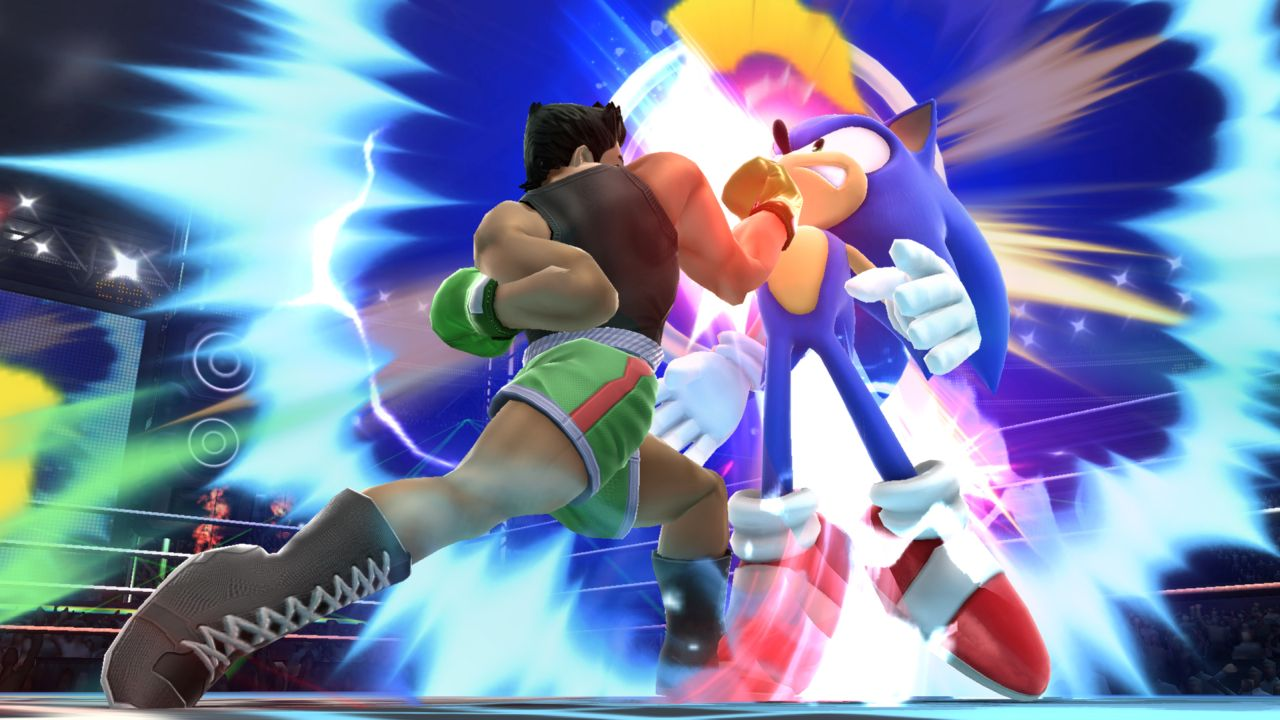 I'll also take any excuse to post picture of Sonic getting OWNED.