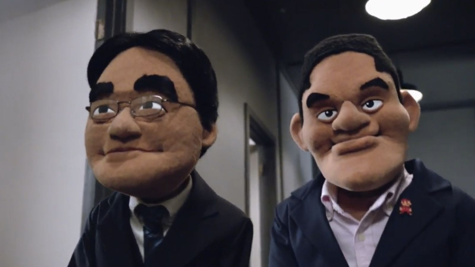 This is Iwata's last public appearance as president and CEO of Nintendo. Let that sink in. How amazing is that?