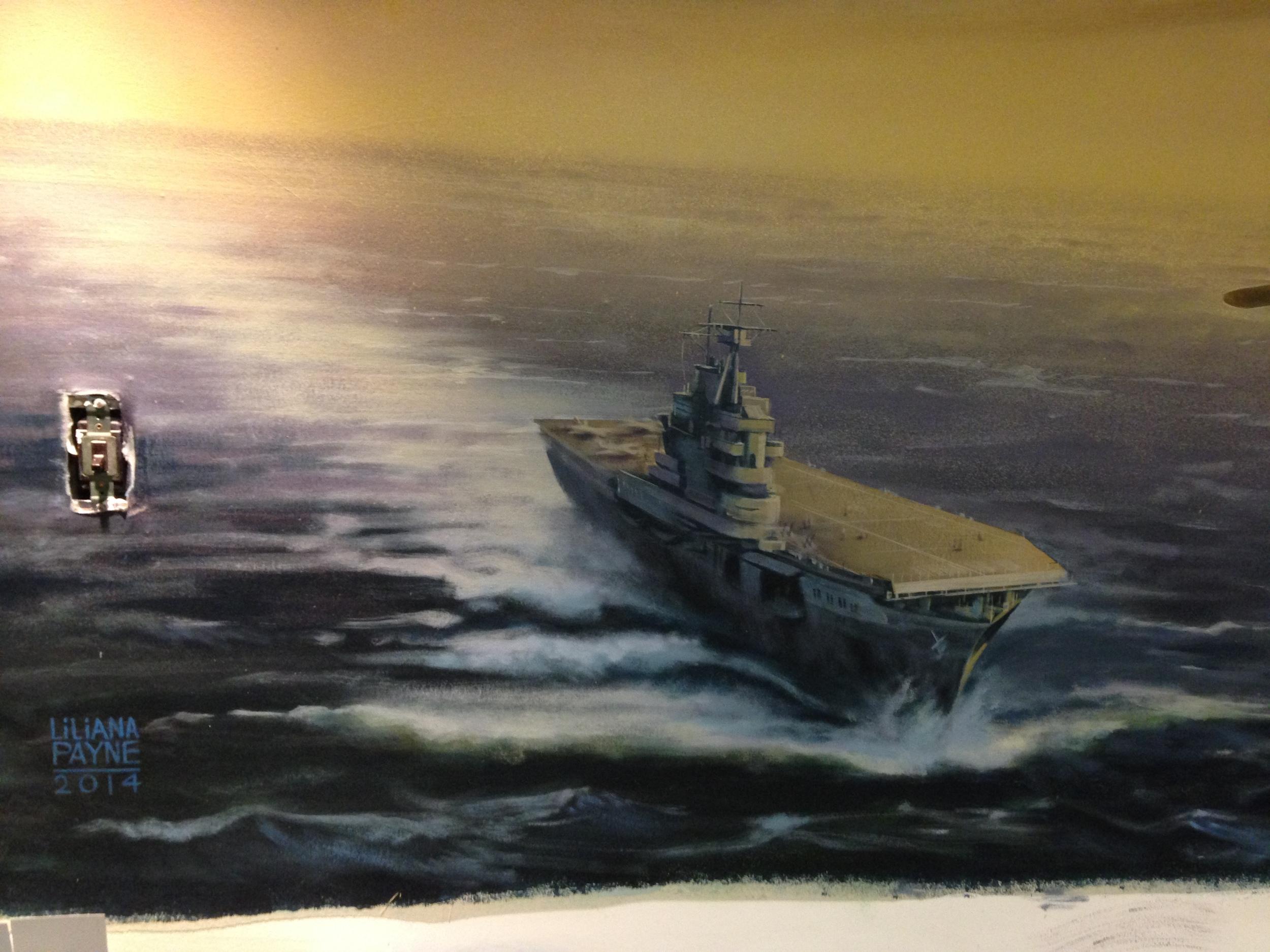 USS Hornet, Doolittle's point of departure.