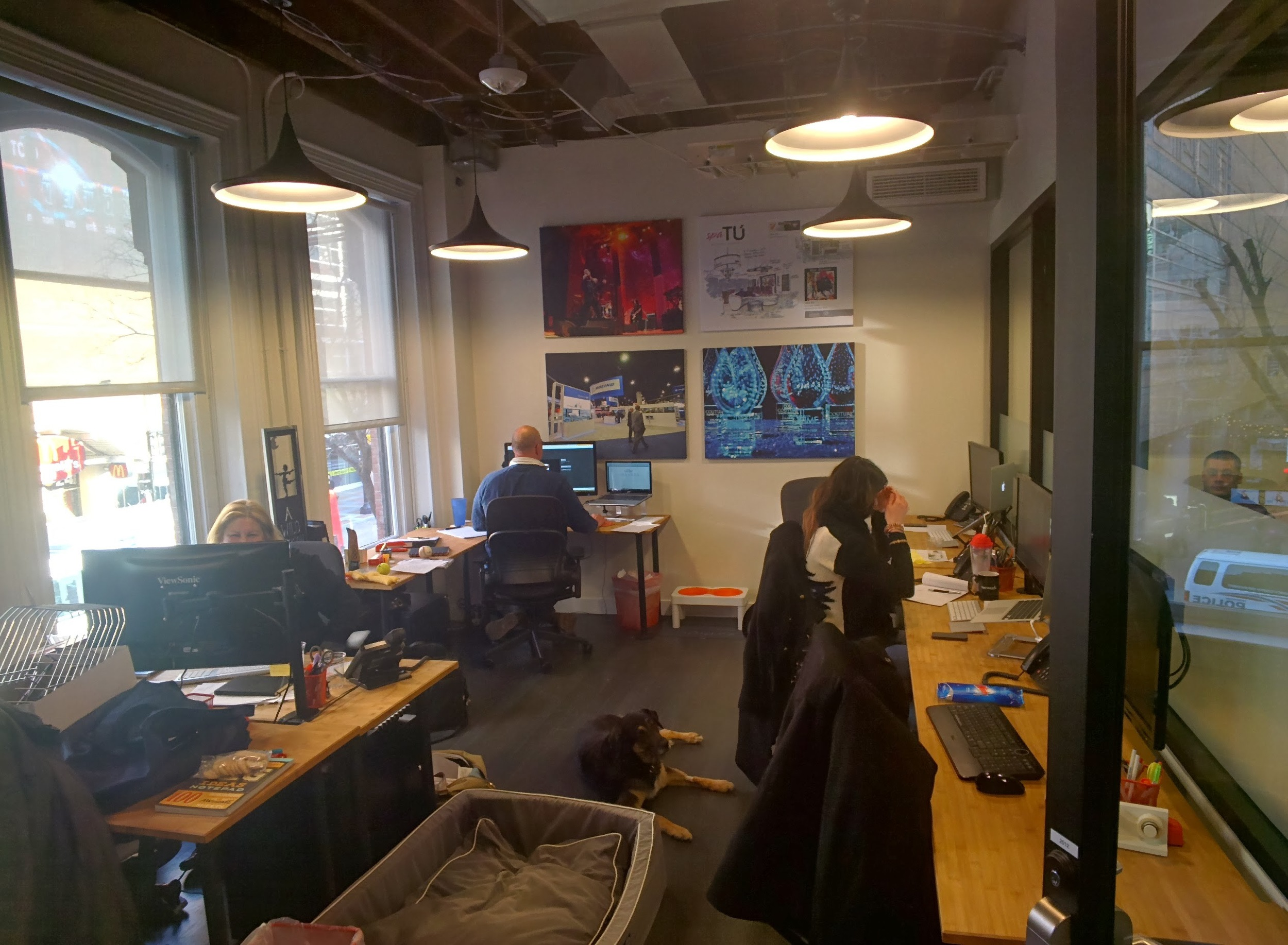 Our New Space