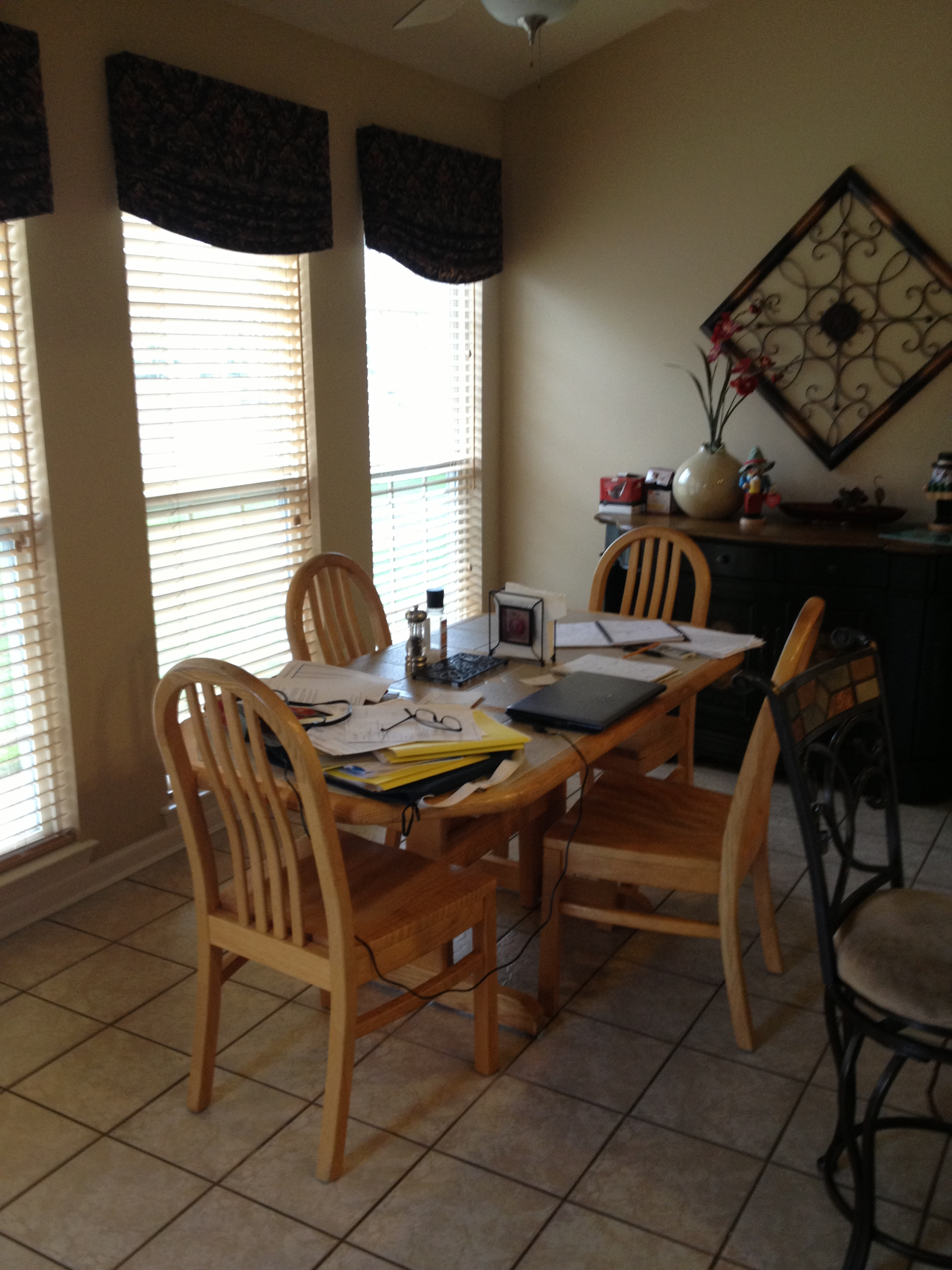 old kitchen table 2