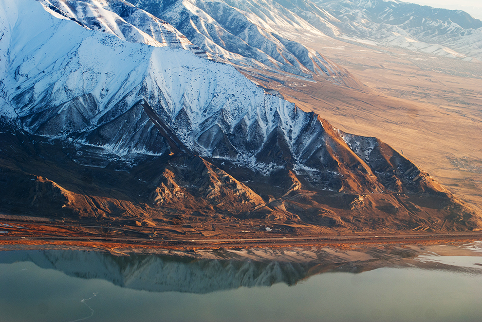 aerial view of Salt Lake
