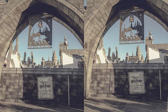 Coming soon Universal Studio's The Wizarding World of Harry Potter #crosseye #3D #stereogram #y_y #armstereogfx #hogsmeade #harrypotter