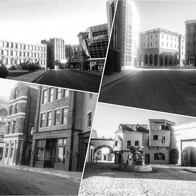 background city sets