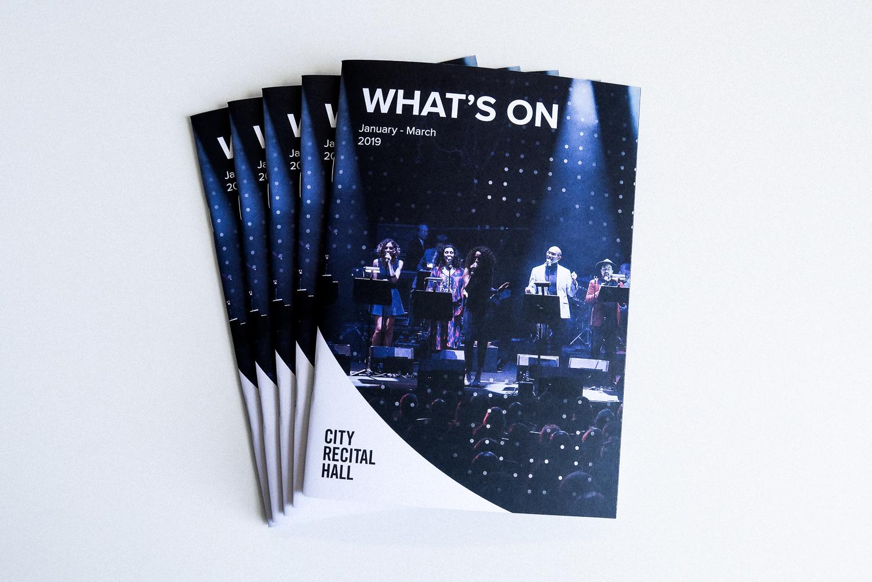 City Recital Hall - Brand Campaign | Design & Branding