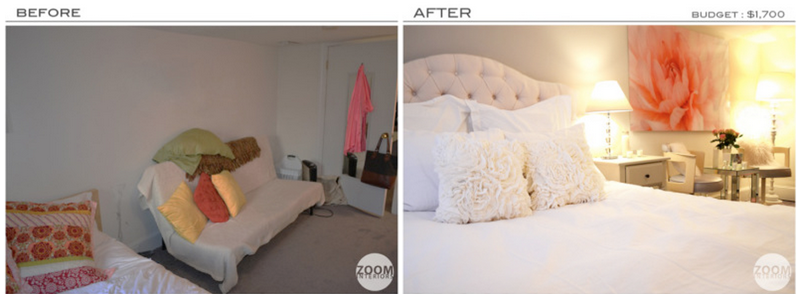 Zoom Interiors Before & After