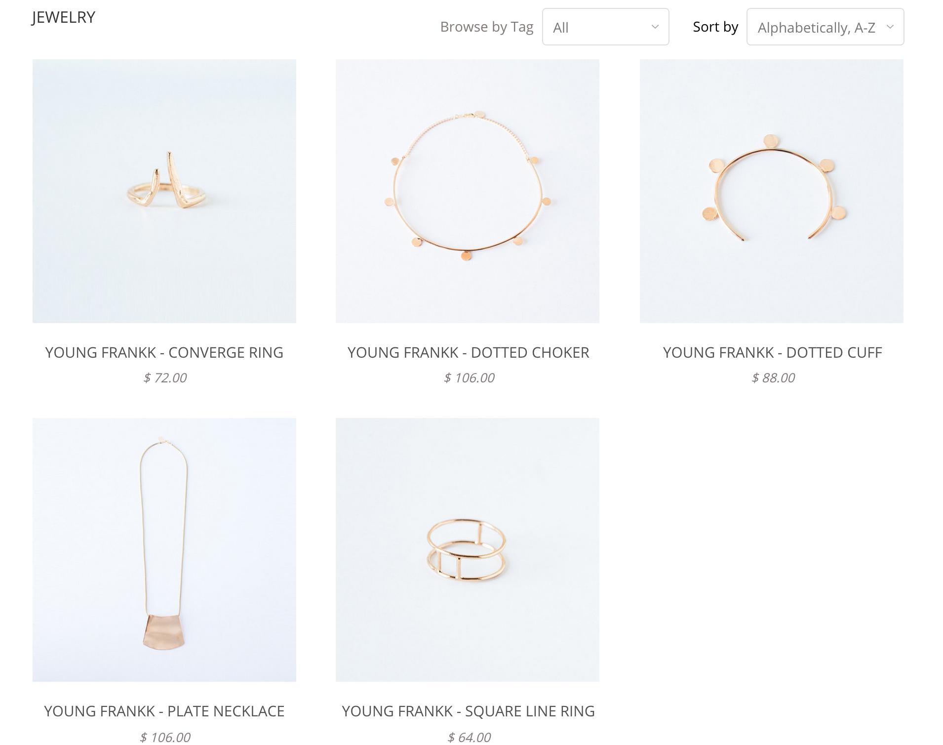 Shop Kaleidos Jewelry