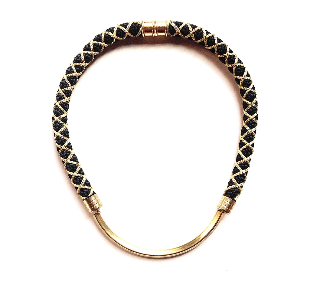 P1 Black & Gold Corded Brass Arc.png