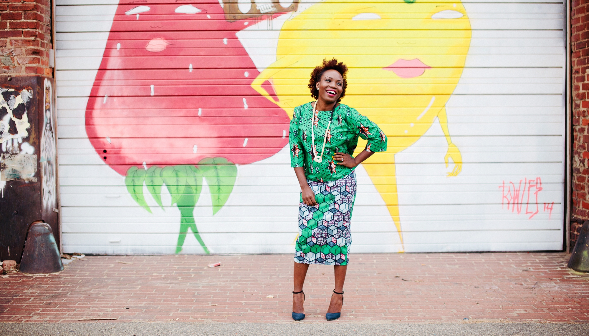 2.25 Styled parlay cords featured on Yetunde Sarumi's Sew Urbane blog
