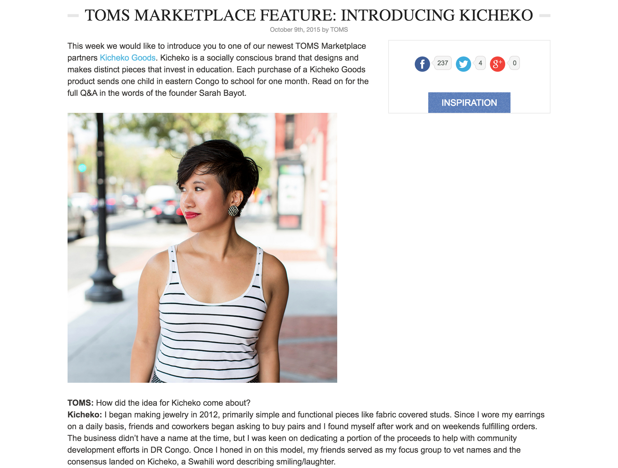 10.9 TOMS Story Blog Feature Introducing Kicheko Goods to the TOMS Marketplace