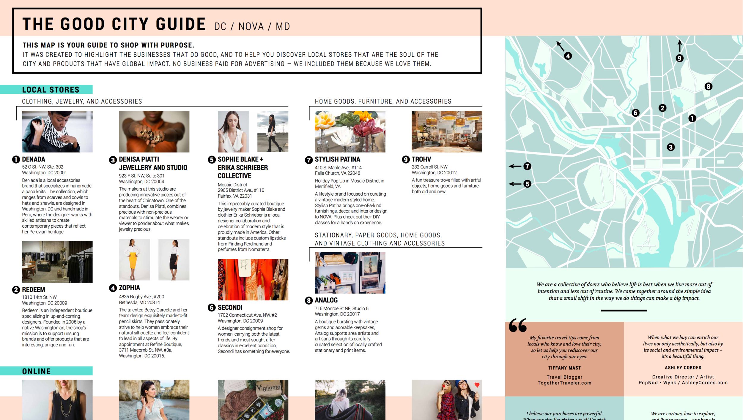 11.27 Good City Guide curated by Pop Nod Shop, Ethic Goods, Shop Wynk and The Together Traveler